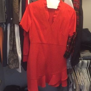 NWOT Sandro red dress